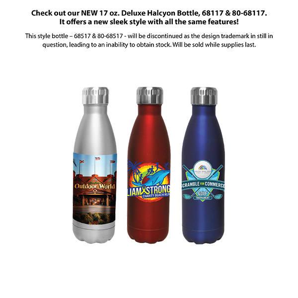 17 oz. Halcyon® Bottle, Full Color Digital