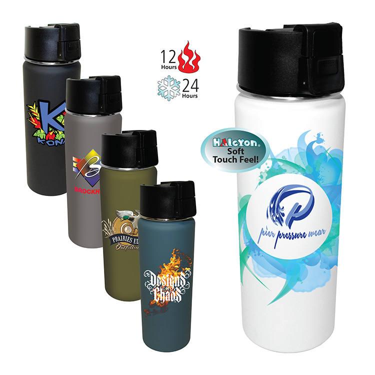 20 oz. Halcyon® Sport Bottle, Full Color Digital