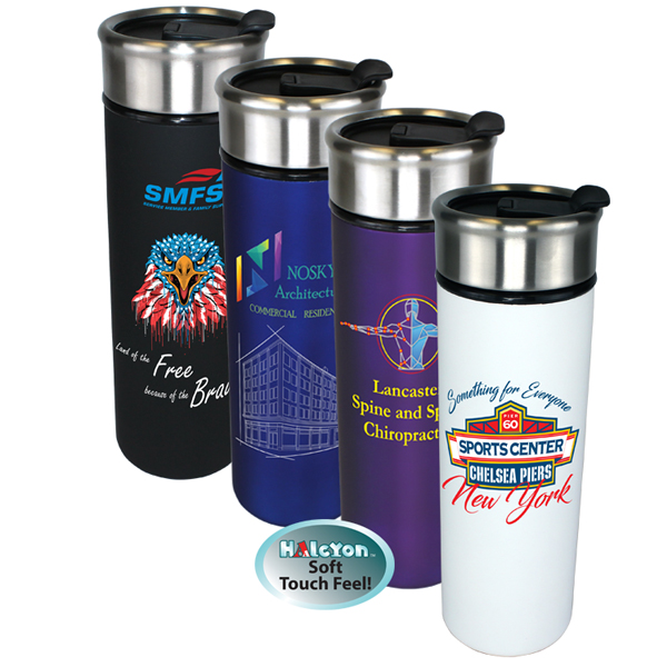 16 oz. Halcyon® Voyager Tumbler, Full Color Digital