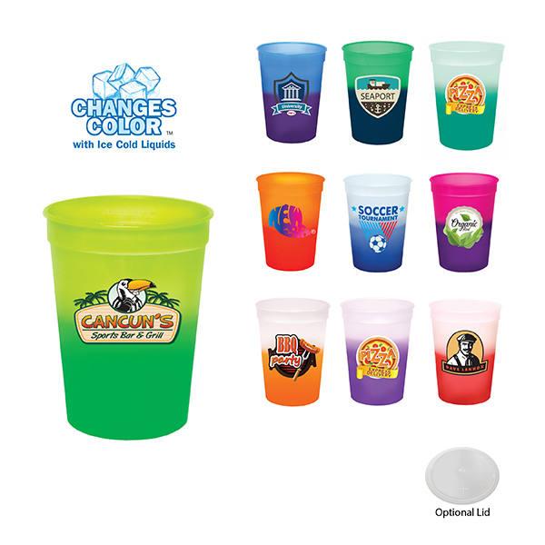 12 oz. Mood Stadium Cup, Full Color Digital
