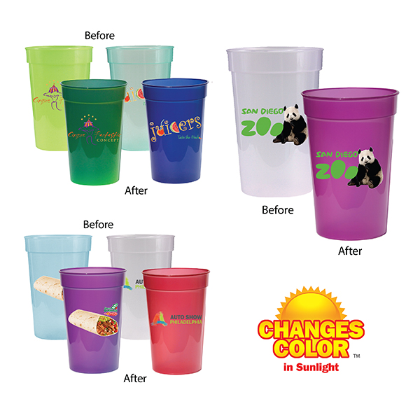 17 oz. Sun Fun Stadium Cup, Full Color Digital