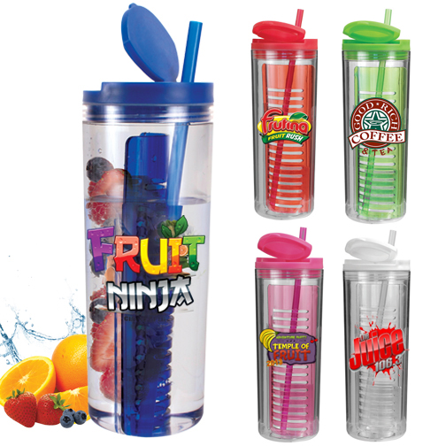 20 oz. Infuser Tumbler, Full Color Digital- Closeout