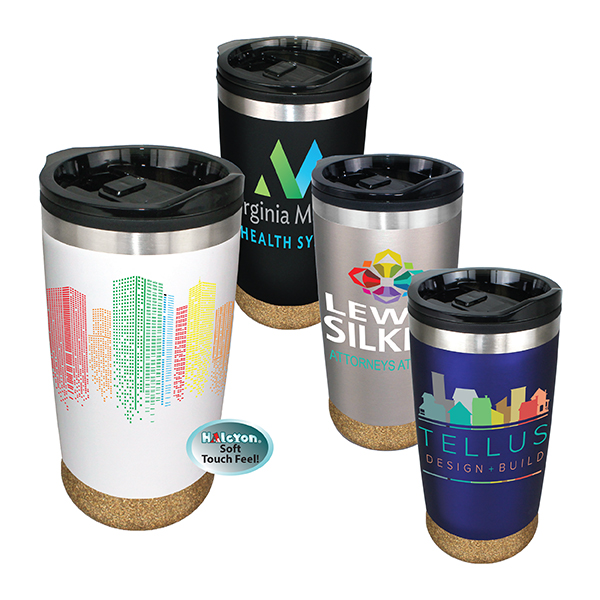 20 oz. Halcyon® Cork Bottom Tumbler, Full Color Digital