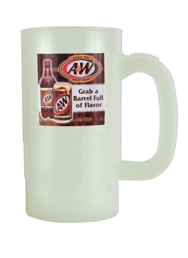 14 oz. Nite Glow Beer Stein (1 Side), Full Color Digital