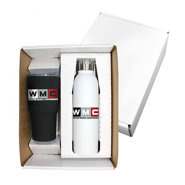 Halcyon® Tumbler & Deluxe Bottle Gift Set, Full Color Digital