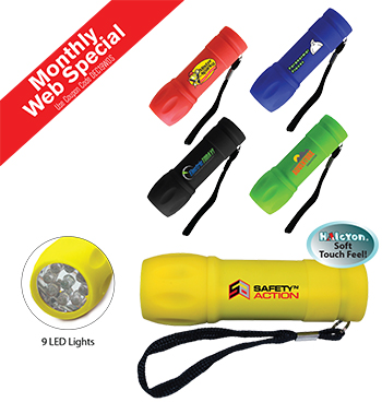 Halcyon® LED Flashlight, Full Color Digital