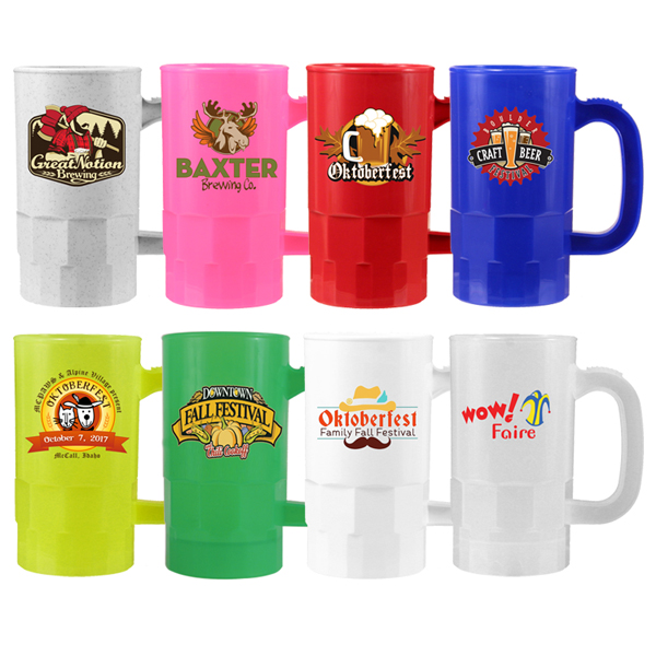 14 oz. Beer Stein (2 Side), Full Color Digital
