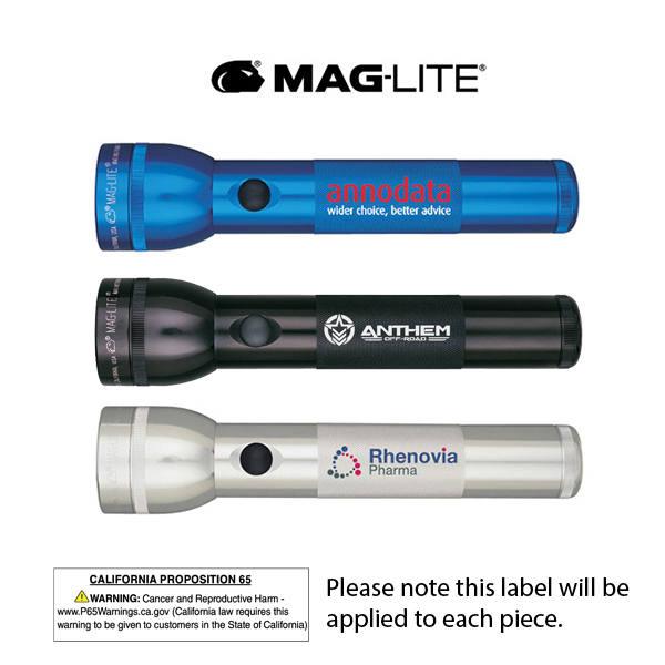 S2D Mag-Lite 2D Laser Engraved