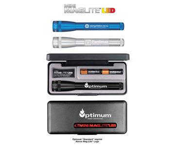 SP2 Mini Mag-Lite LED 2AA, Laser Engraved