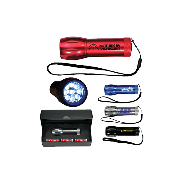 Mega Might LED Metal Flashlight - closeout