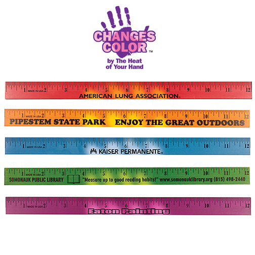 "12"" Mood Wood Ruler"