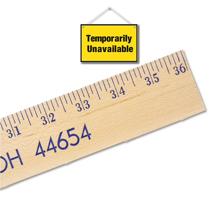 Extra Strength Yardsticks-Clear Lacquer Finish