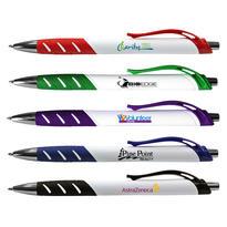 White Allure Grip Pen