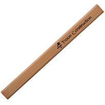 Natural Finish Carpenter Pencil