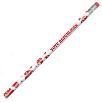 Political Foil Pencil - Republican