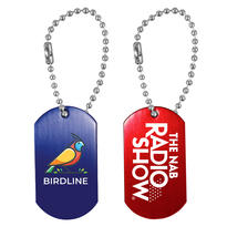 """Dog Tag with 4 1/2"""" Ball Chain"""