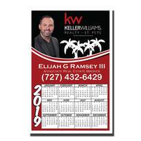 Full Color Digital Calendar Magnet