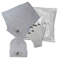 3 Piece Knit Set with Poly Bag