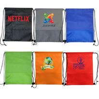 Wave NW Drawstring Backpack
