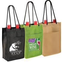 NW Double Bottle Wine Bag