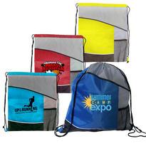 Varsity Drawstring Backpack