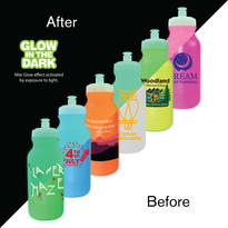 20 oz. Nite Glow Value Cycle Bottle with Push 'n Pull Cap