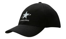Double Pique Mesh Fitted Cap