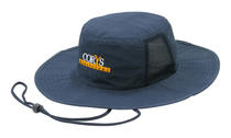 Microfibre Hat with Mesh Inserts