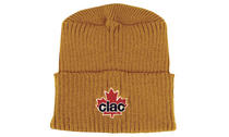 Cable Knit Flat Top Beanie - Toque