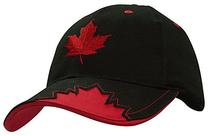 Brushed Heavy Cotton with Maple Leaf Insert on Peak