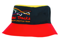 Breathable Poly Twill Multicoloured Bucket Hat