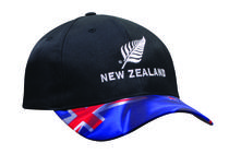 Breathable Poly Twill Waving Flag Cap