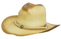 Sprayed Cowboy Straw