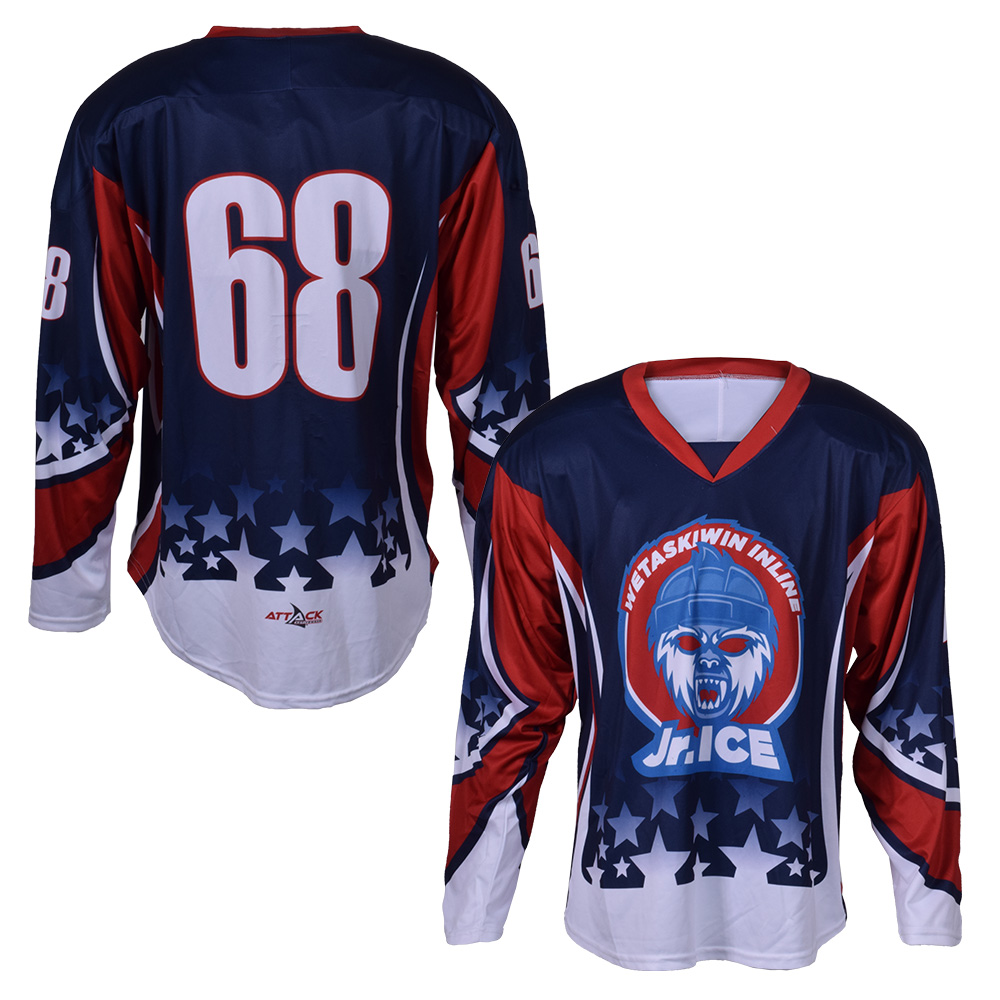 3478e1a98 Ice Hockey Jersey, Pro Neck