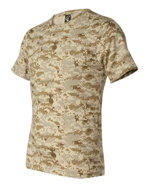 Code Five Adult Camo Tee 3906 S-XL T-Shirts