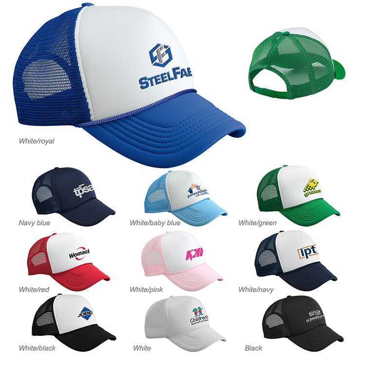 7cdcc4ed04718 Home · Headwear · Adjustable Caps  Valucap Foam Trucker Cap. Product image  ...