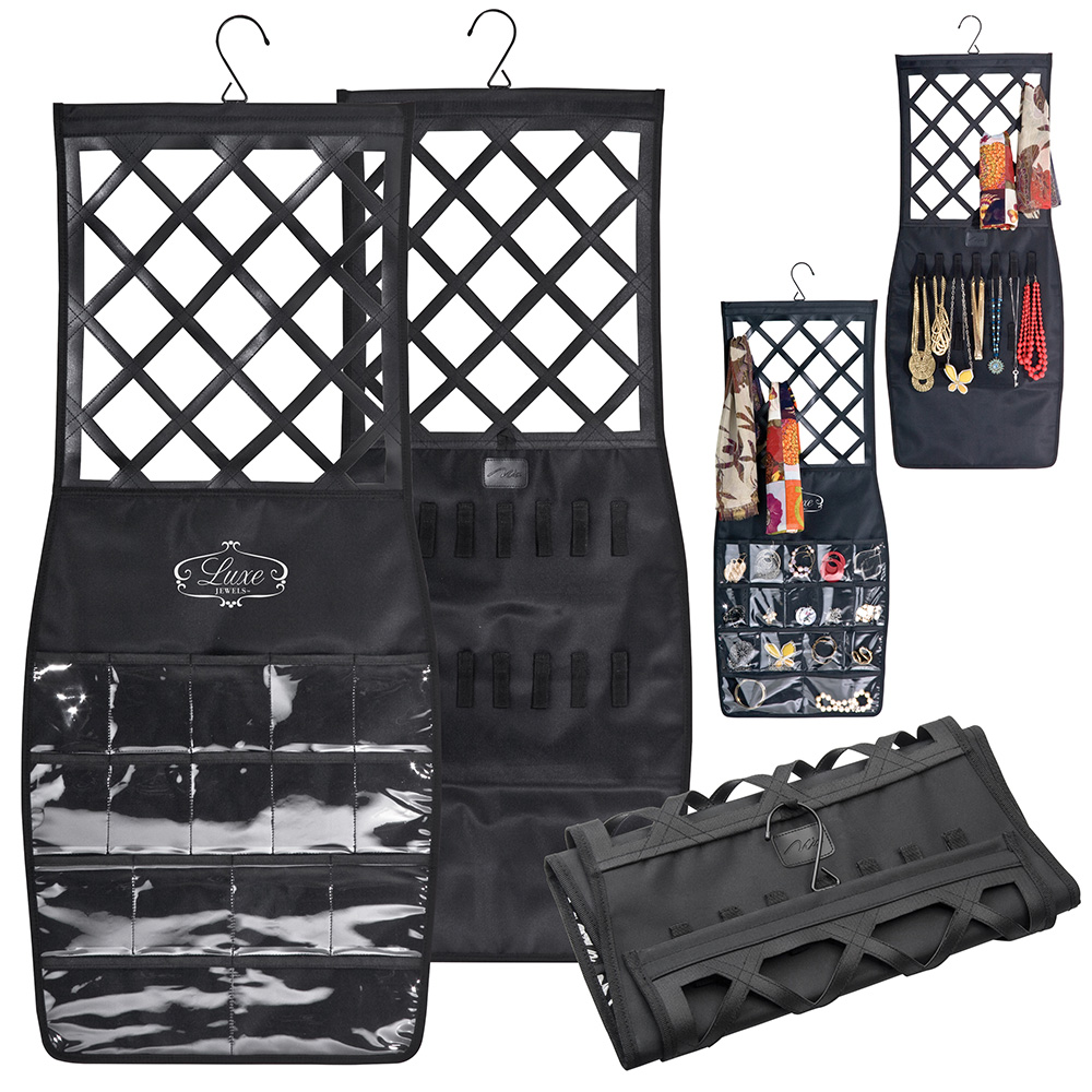 Bella Mia Little Black Pencil Skirt Accessory Organizer