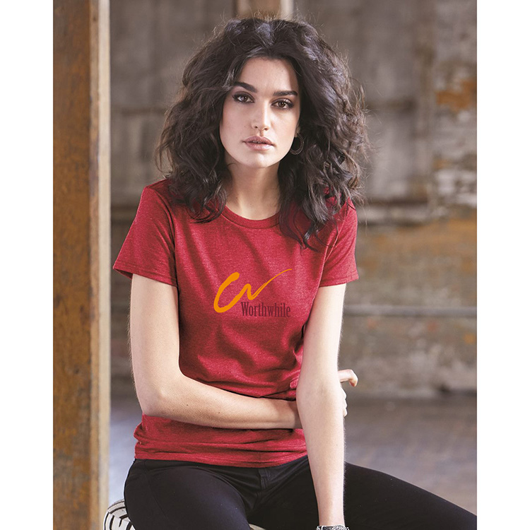 Anvil 880 Women's Lightweight Ringspun T-Shirt