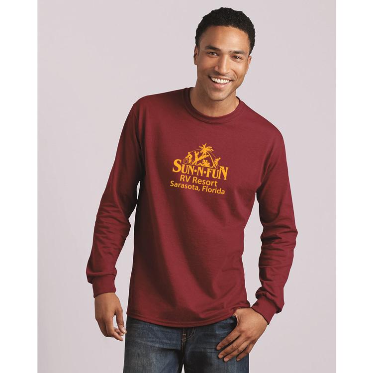 360f0672f36 ... Gildan 5400 Heavy Cotton Long Sleeve T-Shirt. Product image ...