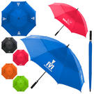 "arcus auto-open 60"" vented canopy golf umbrella"