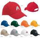 valucap vc100 lightweight cotton twill cap