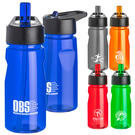 19 oz. notched water bottle with loop