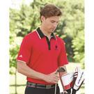 adidas a166 climacool® performance colorblock sport shirt