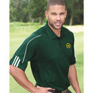 adidas a76 climalite 3-stripes cuff sport shirt