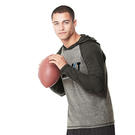 all sport m3101 triblend jersey hooded pullover