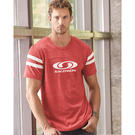 alternative 12150 eco-jersey™ short sleeve football t-shirt
