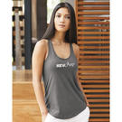 alternative 4031 women's shirttail tank top