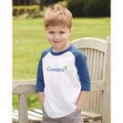 augusta sportswear 422 toddler three-quarter sleeve baseball jersey