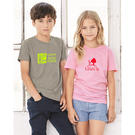 bella + canvas 3001y youth short sleeve crewneck jersey tee