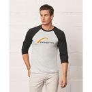 bella + canvas 3200 unisex three-quarter sleeve baseball t-shirt
